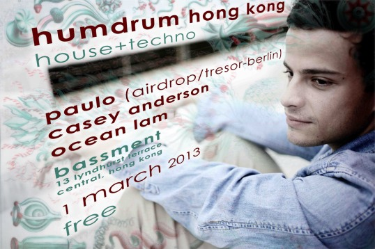 130301 Humdrum Paulo Bassment SM